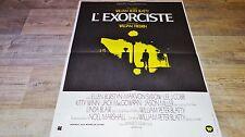 L' EXORCISTE  !   affiche cinema epouvante