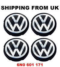 ALLOY WHEEL CENTRE CAP CAPS 56MM 6N0601171 VW BORA GOLF MK4 LUPO TRANSPORTER T4