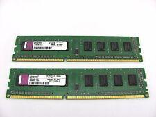 2GB Kingston 2 x 1GB Desktop Memory DDR3 RAM KTW149-ELD 1066mhz