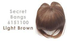 Secret Bangs 6151100 Light Brown Attachment Bangs for Beauty Accessory