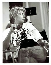 "1990 Vintage Photo on set of ""Awakenings"" movie actress director Penny Marshall"