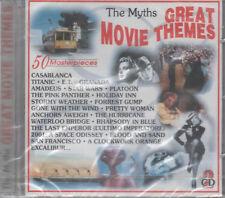 The Myths Great Movie Themes 2 CD NUOVO Casablanca Titanic E.T. Star Wars Platoon