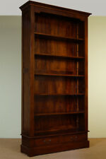 Top quality OPENFRONT LIBRARY bookcase mahogany solid wood 80165a