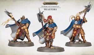 3 PRAETORS - Age of Sigmar Dominion / Vorherrschaft Stormcast Eternals - NEU
