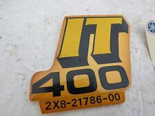 NOS OEM YAMAHA IT400 IT 400 SIDE DECAL ORIGINAL PN 2X8-21786-00