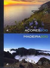 AZOREN + MADEIRA - 2010 JAHRES MARKENHEFTE MH 22 MH 23 MIT EUROPA CEPT **