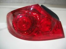 INFINITI G35 SEDAN 07 08 G37 09 10 11 12 13 G25 TAIL LIGHT OEM CHIPPED LH