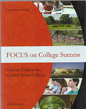 Focus on College Success (4th Edition) 9781305010413 & Aplia 1-semester code CTC