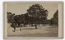 Civil War CDV Baton Rouge Soldiers & Camp By McPherson & Oliver c1863
