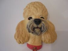 Poodle Figurine, Statue, Bossom Head from England