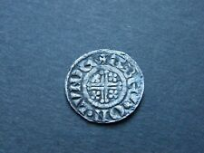 More details for king john hammered silver penny coin abel london mint