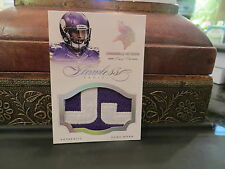 Panini Flawless Game Worn Jersey Vikings Cordarrelle Patterson  1/1   2014