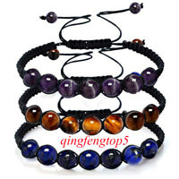 7 Chakra Healing Balance Beaded Bracelet Braided Stone Yoga Reiki Prayer  Gift