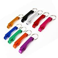 5pcs Bottle Opener Key Ring Chain Keyring Keychain Claw Beer Metal Bar Tool Q6T7
