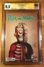 Rick and Morty 50, Dan Harmon 1:25 Variant Cover, CGC 8.5 SS, signed by Trujillo
