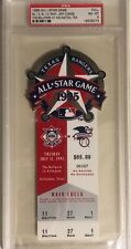 1995 Baseball All-Star Game Full Ticket - PSA 8