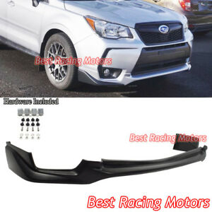 OE Style Front Bumper Lip (Urethane) Fits 14-18 Subaru Forester XT Turbo
