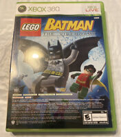 Lego Batman the Video Game & Pure (Microsoft Xbox 360, 2009) Complete Tested