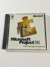 Microsoft Project 98- Management PC CD with Case