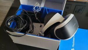 Casque SONY VR PS4 + Camera PS4 V1