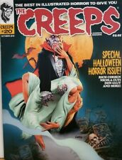 The Creeps Oct 2019 #20 Halloween Horror Issue Rich Corben FREE SHIPPING CB