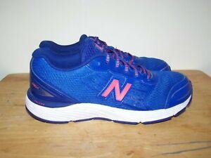 NEW BALANCE 680V5 Blue Womens Running Trainers  UK-5 EU-38 cm-23,5