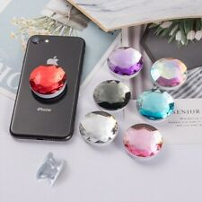 Big Diamond Universal Mobile Phone Holder Expanding Stand Grip Mount Finger Ring