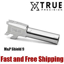 True Precision M&P Shield 9 X-Fluted Match Grade 9mm Barrel -Raw Stainless Steel