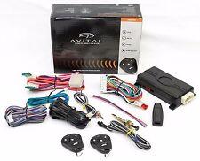 AVITAL 4103 CAR REMOTE STARTER KEYLESS ENTRY PUSH START AVISTART 4103LX 4 BUTTON