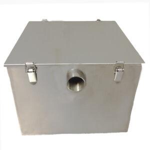 Davlex Grease Trap Commercial Stainless steel 9 Kilo 45 Litre per min Fat Traps