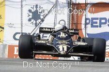 Elio de Angelis JPS Lotus 91 EE. UU. Grand Prix 1982 fotografía 3