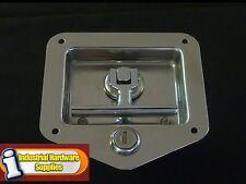 Folding T handle Lock - Trailer - Toolbox - Truck - Horsefloat and Van