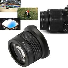 0.35x58mm Camera Super HD Wide Angle Fisheye Lens With Macro for Canon EOS BS