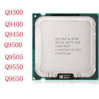 Intel Core 2 Quad Q9300 Q9400 Q9450 Q9500 Q9505 Q9550 Q9650 LGA/775 Processor