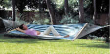 New Polyweave PVC Coated 2 Person Large Hammock & Stand