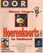 MAGAZINE OOR 1990 nr. 03 - RED HOT CHILI PEPPERS/MANO NEGRA/GEORGE CLINTON
