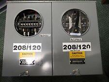 Metering Device Co. 2 Position Metering Socket 3Ph 4W 208/120V Used
