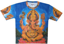 New Men T Shirt Online Buy Tee Ganesha Hindu God Peace zen L Rare Art Print