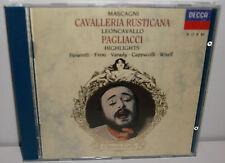 421 870-2 Mascagni Cavalleria Rusticana Leoncavallo Pagliacci Highlights