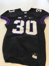 Game Worn Used Nike TCU Horned Frogs Football Jersey #30 Size L