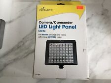 Promaster Camer/ Camcorder Led Light Panal Led 42