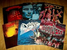 6 HAIR METAL LP LOT Y&T KROKUS LOUDNESS DOKKEN RATT Tooth And Nail Out Of Cellar