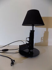 LAMPE DESIGN SIG SAUER noir (chevet bureau table pistolet gun arme lamp Light )