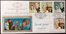 Benham 1997 Golden Wedding Anniversary FDC Signed ELIZABETH LAMBART, Bridesmaid