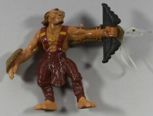 Vintage Small Soldiers Gorgonite Leader Crossbow Weapon Archer Figurine