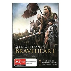 Braveheart DVD Brand New Sealed Region 4 Aust. - Mel Gibson  - Free Post