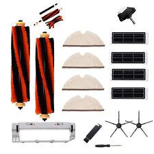 Cepillos Laterales/Rollo filtros conjunto para XIAOMI roborock barriendo Aspiradora Robot