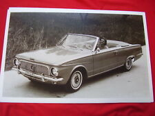1963 PLYMOUTH VALIANT SIGNET CONVERTIBLE   11 X 17  PHOTO   PICTURE