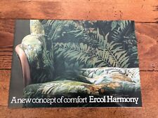 More details for a late 1970s brochure for ercol harmony !
