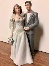 "Wedding cake topper 7"" porcelain"